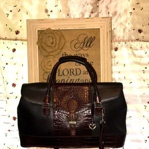 Authentic Large Leather Brighton for Business Bag